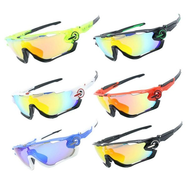 4 Lenses Protection Cycling Glasses Mountain Bike Ridding Goggle Outdoor Sports Windproof Sunglasses Skiing Equipment