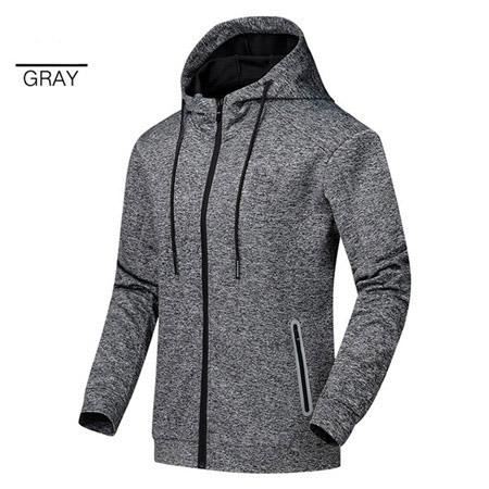 2019 Windbreaker Patchwork Moda Sports Jackets Gym ativa que funciona Coats Primavera Outono manga comprida Zipper Hoodies QSL198273