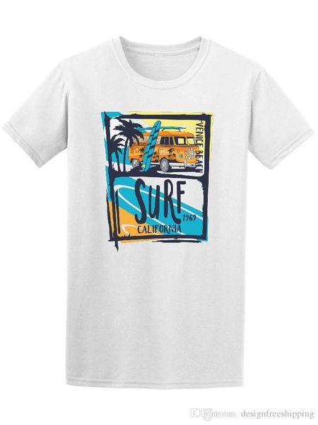 Tee Shirt Hipster Harajuku Marque Vêtements T Shirt Cool Summer California À Manches Courtes Imprimé O-Neck Tee Pour Hommes