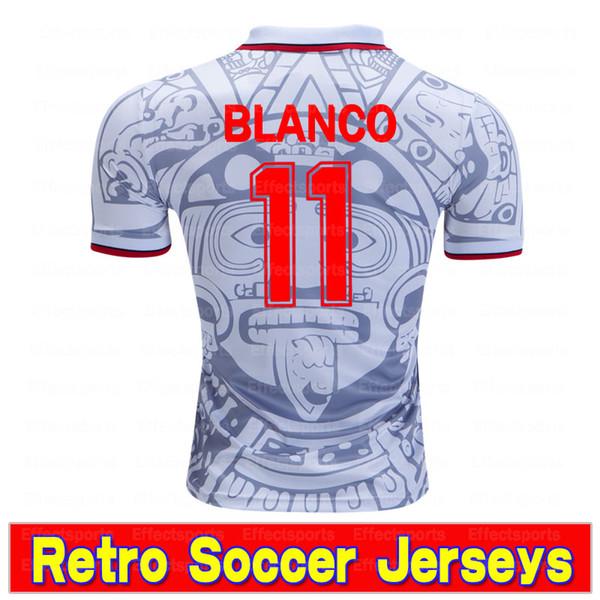 Retro Mexico White 11 # Blanco