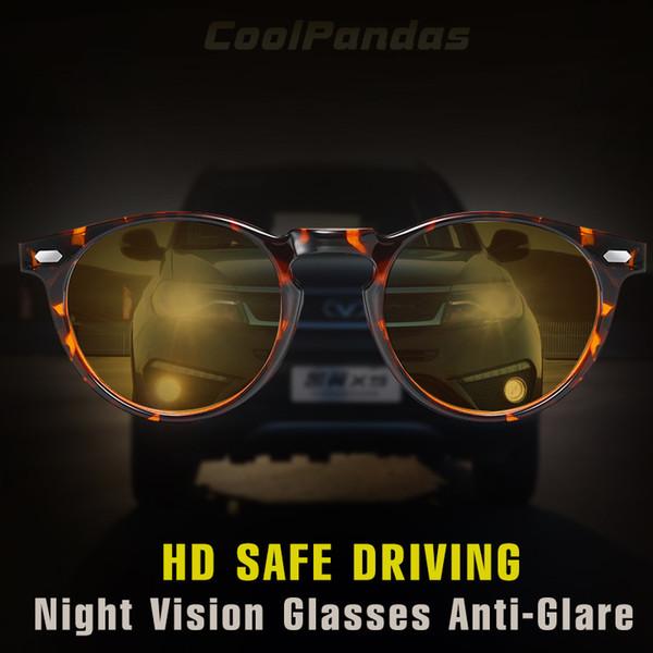 TR90 frame Unisex Night Vision Glasses for driving Anti-Glare HD Polarized Sunglasses Women Men Goggles lentes vision nocturna