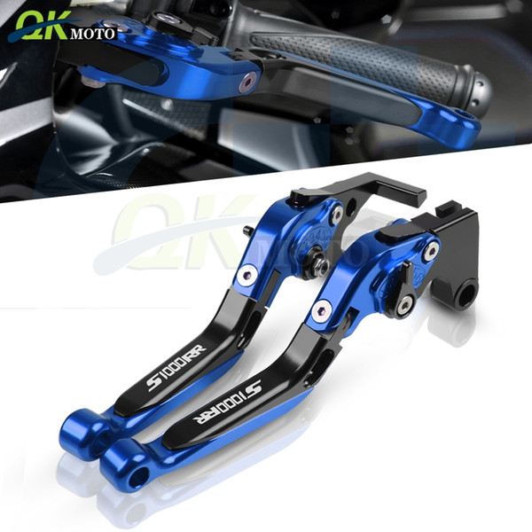 top popular Motorcycle Extendable Foldable Aluminum Handle Brake Clutch Levers For s1000 rr RR S1000rr s1000rr 2010 2011 2012 2013-14 2020