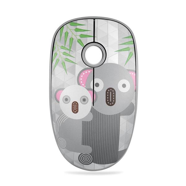 2.4GHz Portable Cartoon Pattern Ergonomics 4 Stylish design with distinctive look. Keys USB Wireless 10m Mouse
