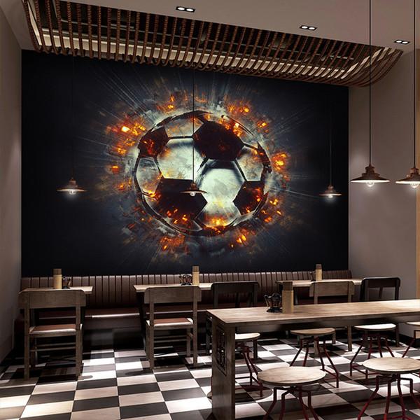 Papel De Parede Custom 3d Mural Wallpaper Cool 3d Stereo Flame