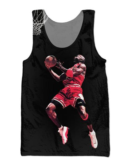 Newest Fashion Famous Super Star Printed Tops Sleeveless Hollow Out O Neck Casual Tank 3d Vest Bodybuilding Fitness Sporting Shirts Z11