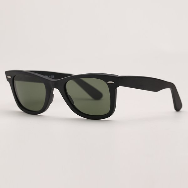 matte black-deep green lenses