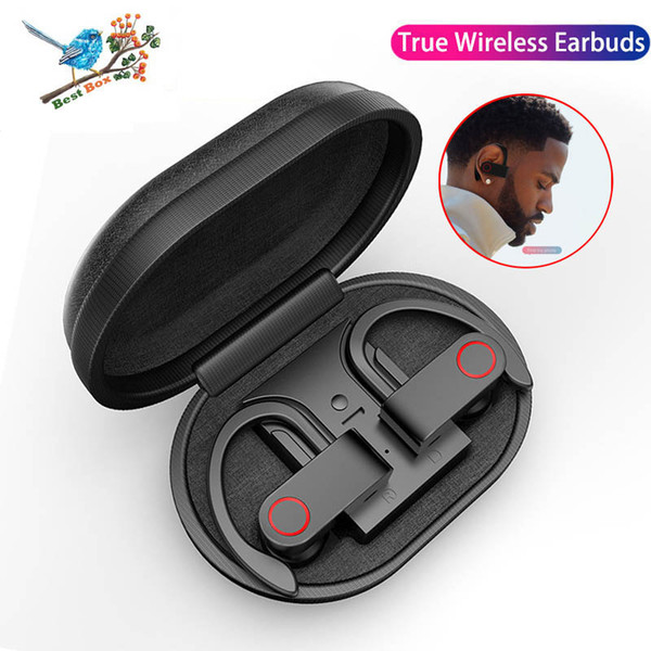 A9 TWS Bluetooth écouteurs sans fil écouteurs véritables Les 8 heures de musique Bluetooth 5.0 écouteurs sans fil écouteurs sport étanche