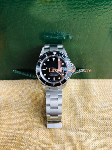 Versión mejorada Vintage Luxury + Quality Watch 1972 40mm 116600 Sea-Dweller Cerámica Bisel Asia 2813 Movimiento mecánico automático para hombre