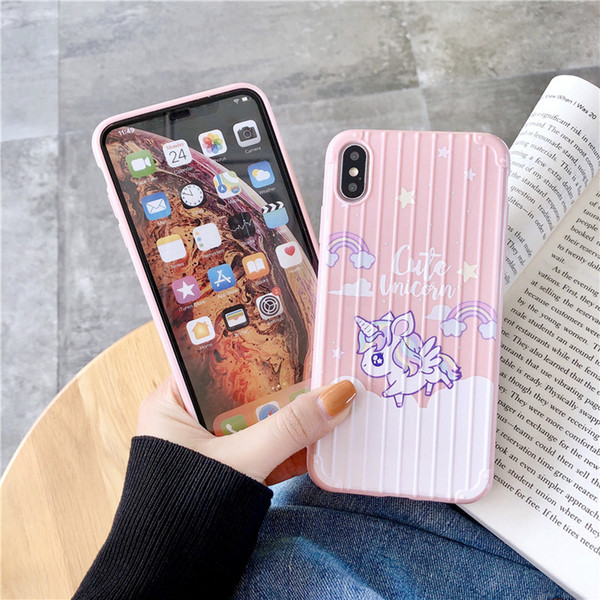 One Piece luxury phone case For iPhone XS XR MAX 8 7 Plus 6S unicorn Designer Back Case BOOT trunk shape Cover fashion