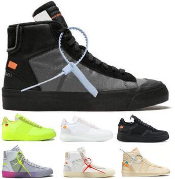 2019 1 Orta Zorlayan Koşu Ayakkabıları Erkek Kadın Lüks Tasarımcı Zapatos Sneake Siyah Zorla Serena Williams Tüm Yadi ...
