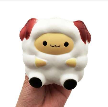 Cartoon niedliche Schafe Squishy langsam steigende Creme duftende Dekompression Toy Cure Geschenk