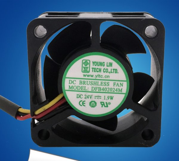 Toptan Alman Orijinal DFB402024M 4CM 24V 1.9W 3 4020 soğutma fanı