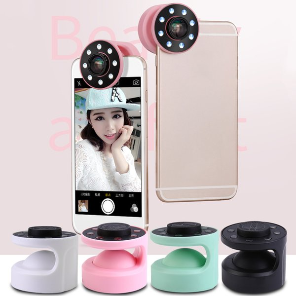Professional Macro Wide Angle USB Rechargeable Selfie LED Ring Flash Light Camera Photography For Iphone For Samsung