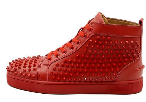 as pic red leather