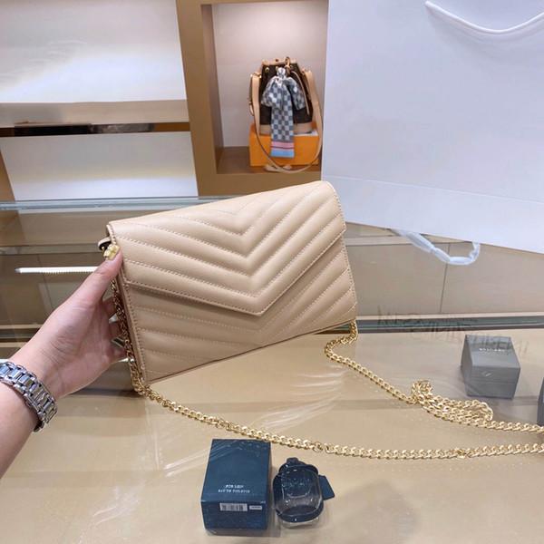 حقيبة المشمش مع الذهب شعار