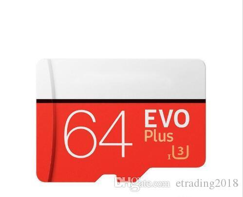 Brand New EVO Plus 64GB 32GB Micro SD Card SDXC SDHC Memory Card UHS-I U3 Card with Adapter Retail Package