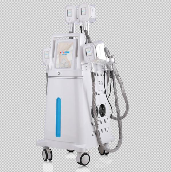2019 Neueste Top Qualität Multifunktions 4 Silikon Griffe Fett Einfrieren Kryolipolyse Maschine