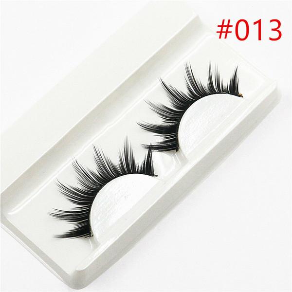 1 Paar Verkaufen 3d Falsche Wimpern Korea Natürliches Make-Up Lange Falsche Wimpern 2019 Lashes Makeup Gift # h013