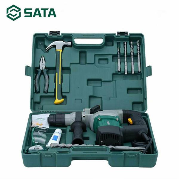 Repair Tool 220V 12 Stück 800W Heavy Power Hammer Bohrmaschine Adapter Kit