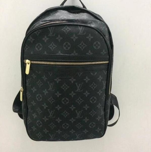 Бесплатная рассылка Лучшие продажи классической моды рюкзак женский PU рюкзак Квартет пряжка фирменная сумка женская универсальная сумка