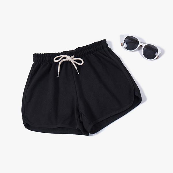 2019 Nuevas mujeres Pantalones de algodón Niñas Pijamas Pantalones cortos Cordones Ropa de dormir Pantalones cortos sueltos Pijama Summer Loungewear Pantalones de dormir adolescentes