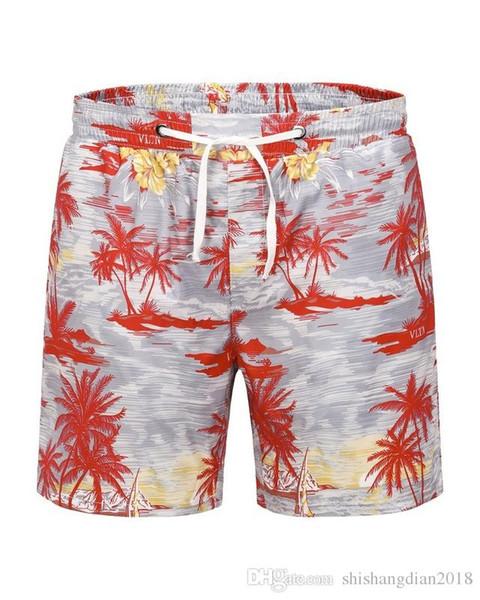 2019 erkek Pantolon Klasik Moda Marka Retro Spor Şort Pantolon Yaz Standart Pamuk Boy Koşu Pantolon Plaj Şort erkekler