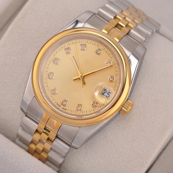 luxury mens diamond automatic watch designer watches sapphire automatic mechanical 8215 movement self-winding wristwatches montre de luxe