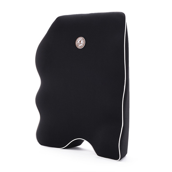 1 Pc Car Seat Cushion Lumbar Pillow Memory Foam Entire High Back Support For Office Chair Ergonomic Seat Support SH190713