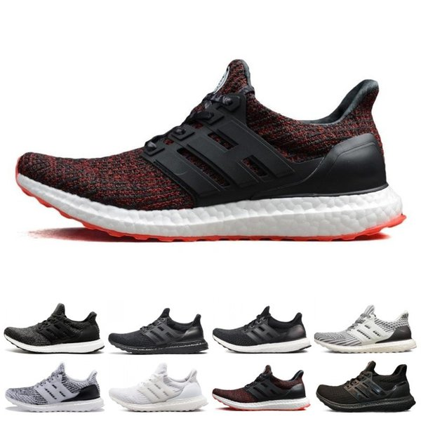 Ultra 3.0 4.0 Zapatillas de running Hombres Mujeres Core Triple Negro Blanco Oreo CNY Primeknit Fashion Trainer Sports Sneakers Tamaño 5-12 al por mayor