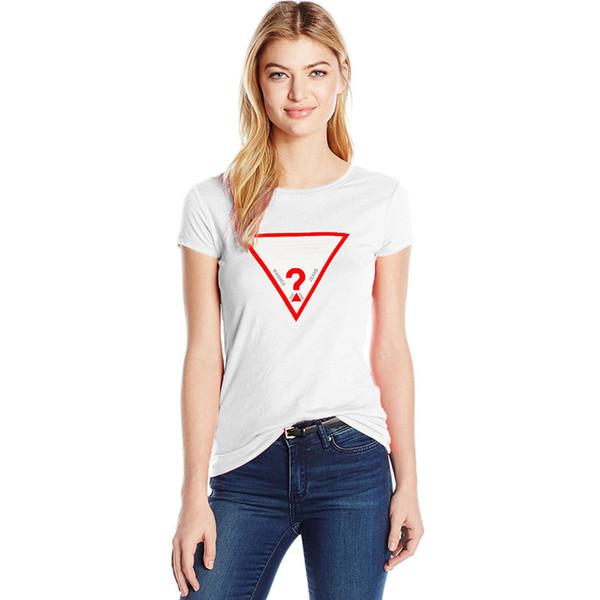 2019 donne di marca t-shirt stampa lettera top tees estate 100% cotone tshirt manica corta da donna sottile tshirt T-A9424