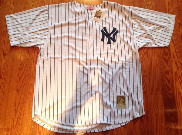 cheap custom #3 Babe Ruth Pinstripes Stitched Customize any number name MEN WOMEN YOUTH XS-5XL