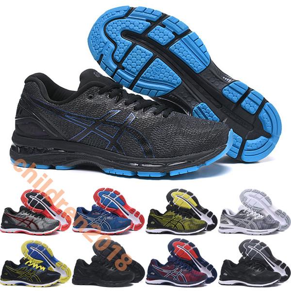 Asic Gel Nimbus 20 Marathon Running Shoes For Men 2019 Designer Brand Cherry Blossom Mens N20 Outdoor Training Sneakers Size 7.5-11