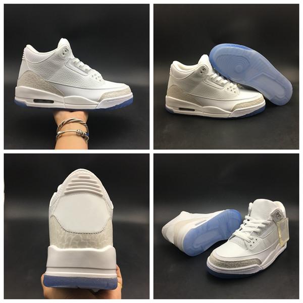 Top Qulity Puro Cemento Blanco Tinker Justin Moda Baloncesto Zapatos Hombres Deportes Todo Blanco Zapatillas de deporte Tamaño 40-47