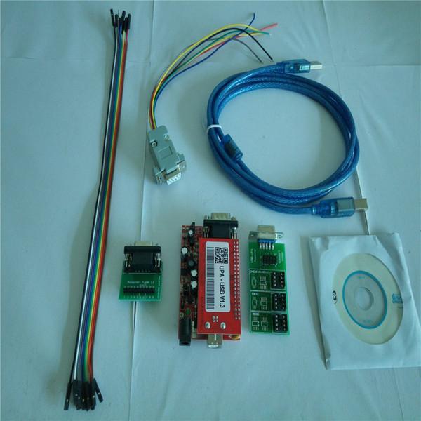 El programador UPA Usb v1 con el adaptador de conjunto completo Upa Main Board y Eeprom Board y el cable conector para Usb v1.3 envío gratis