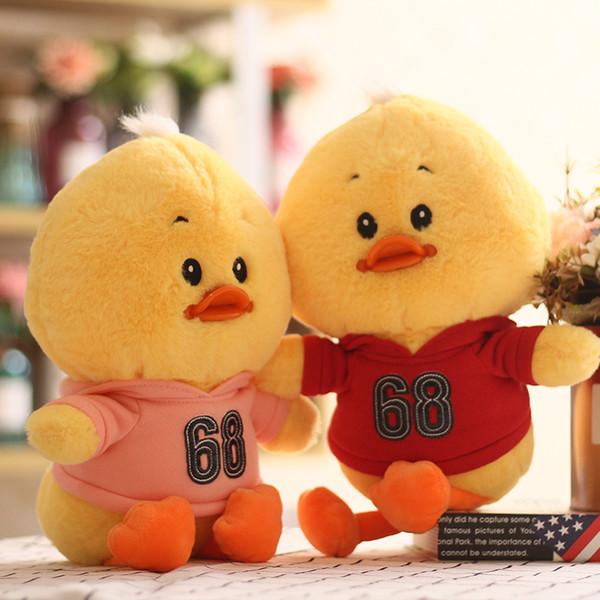Venta al por mayor lindo juguete de peluche creativo niñas niños lindo peluche muñeca niña corazón regalo 02