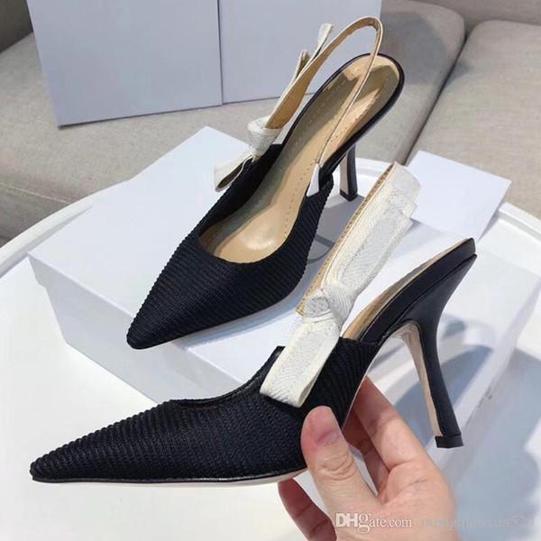 Moda sexy Sandalias de tacón alto Gladiador Sandalias de cuero para mujer Diseñador de lujo Tacón fino Zapatos de tacón alto 10cm Zapatos de mujer de gran tamaño 42