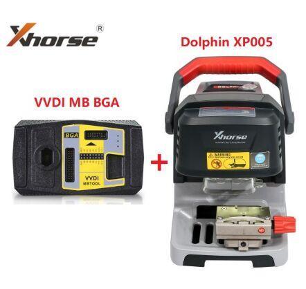 Nuova tagliatrice automatica XHorse Condor Dolphin XP005 Plus VVDI MB BGA TooL Programmatore chiave Compreso funzione BGA Calculator