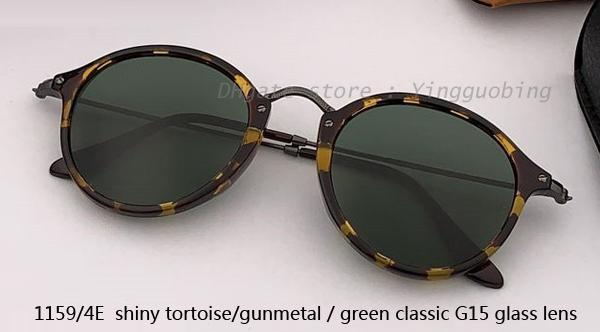 1159/4E shiny tortoise gunmetal/ G15