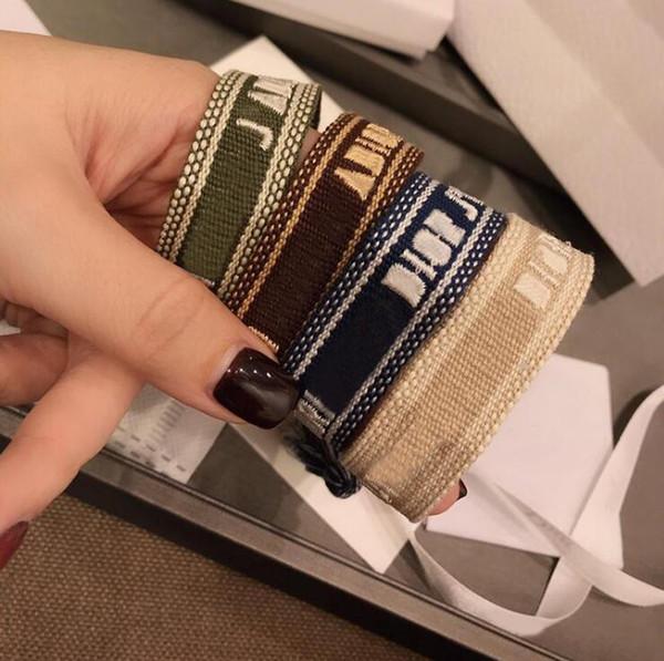 Известный дизайнер ювелирных изделий марки D поделки плетеные браслеты Амулет вы