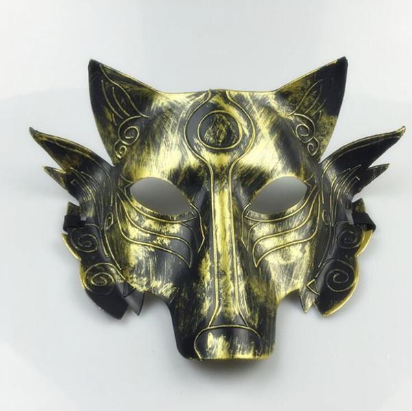 # 1 Masque Loup épais