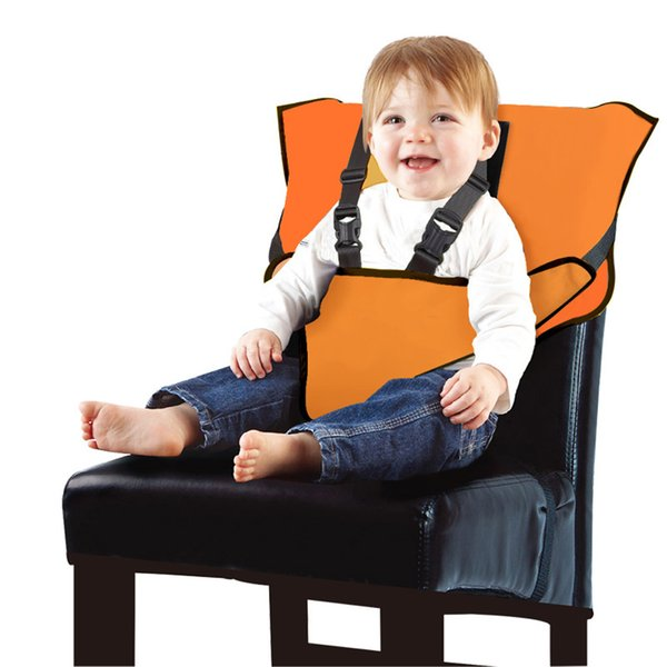 Portable Foldable Baby Seat Kids Dining Chairs High Chair Seats 5 Point Safety Travel Baby Highchair Outdoor Feeding Accessories