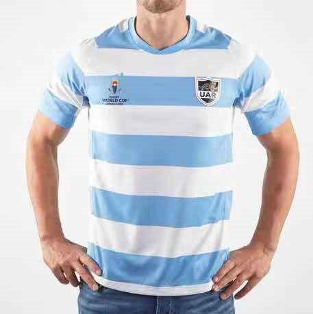 Argentine RUGBY JERSEY Coupe du monde 2019 PRO Japon Rugby Argenting ACCUEIL RUGBY COUPE DU MONDE 2019 Taille football JERSEY S-5XL (peut imprimer)