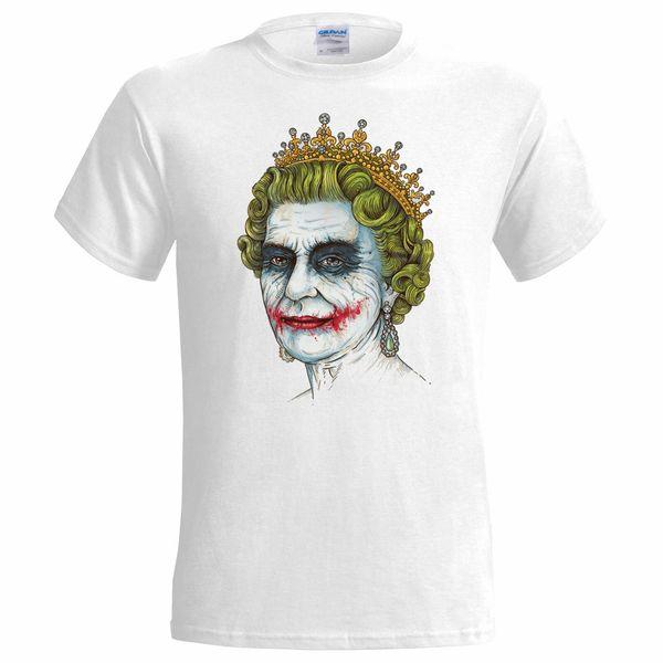 Banksy Joker Queen Mens T Shirt Graffiti Art Urban Art Anarchy Disobey Brand shirts jeans Print