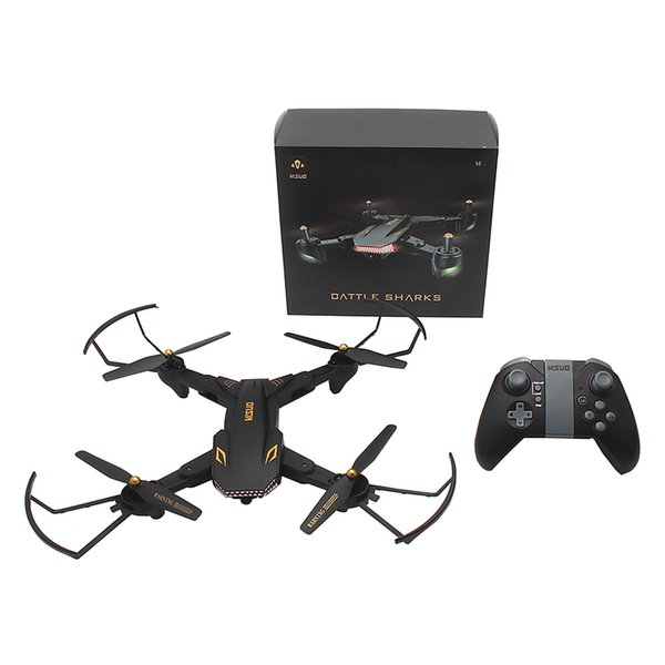 TIANQU VISUO XS809S RC Drone WiFi FPV HD Camera Quadcopter 2.4GHz Foldable Selfie Drone One Key Return Altitude Hold Mini Drone