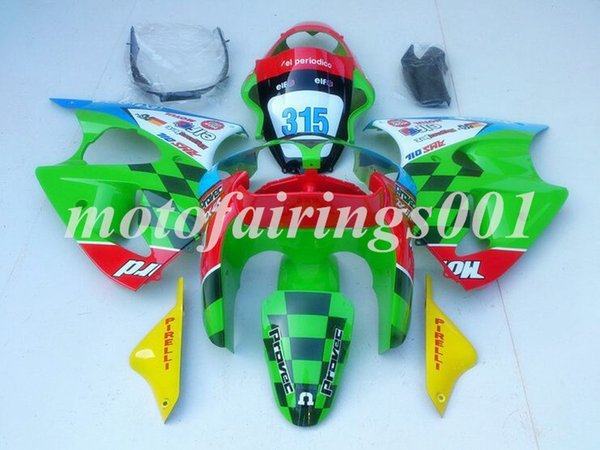 Custom Free Injection Mold New motorcycle parts Fairings kits for Kawasaki Ninja ZX-6R ZX6R 636 2000 2001 2002 ZZR600 00 01 02 Cool style