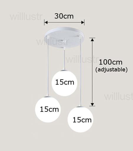 15cm و * مل 3pcs، جولة المظلة