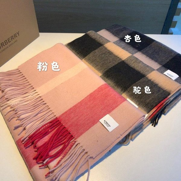 New hot sell men scarf women scarf soft smooth classic luxury elegant fashion atmosphere top quality shawl with box NS:138-TWO