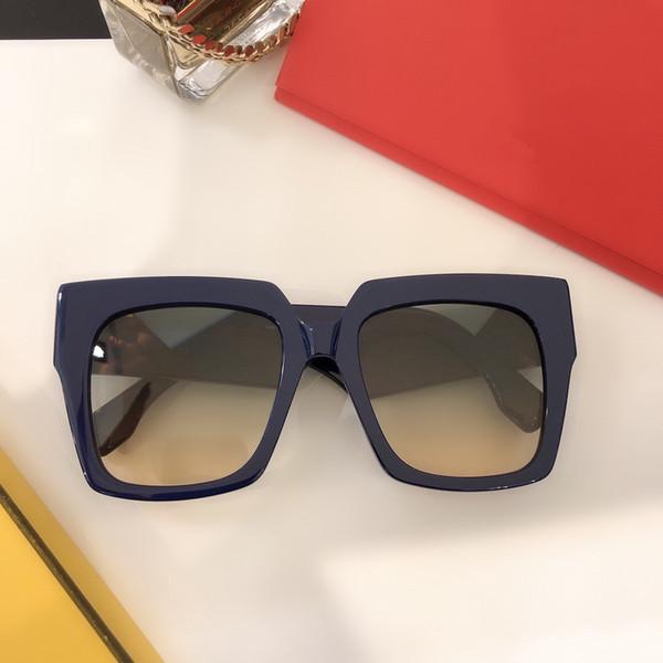 lente multi azul