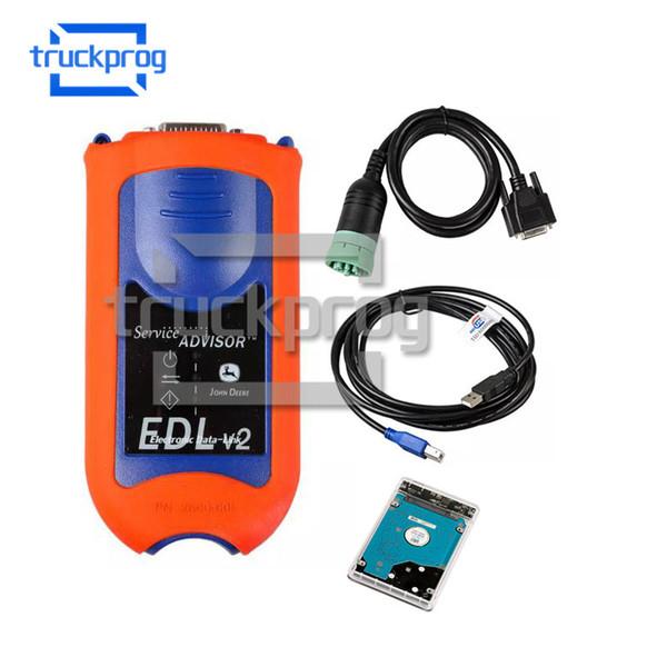 Herramienta de diagnóstico de TruckProg Agrícola de Servicio JD Asesor EDL Diagnostic Kit V2 Construcción Sistemas de Diagnóstico