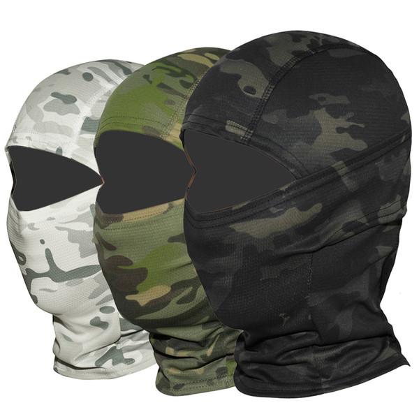 Multicam CP Camouflage Balaclava Vollmaske Wargame Radfahren Jagd Army Bike Military Helm Liner Tactical Airsoft Cap